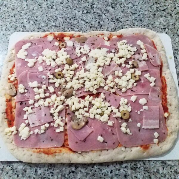 pizza precocinada